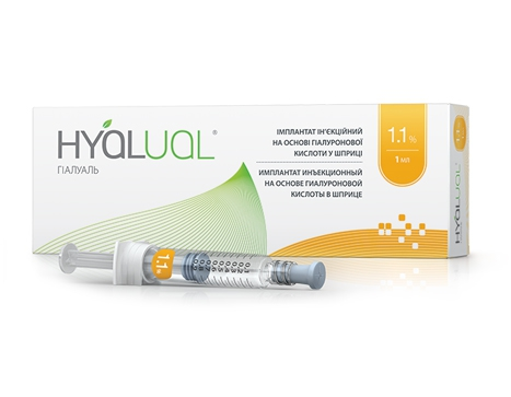 Препарат Hyalual® 1,1%