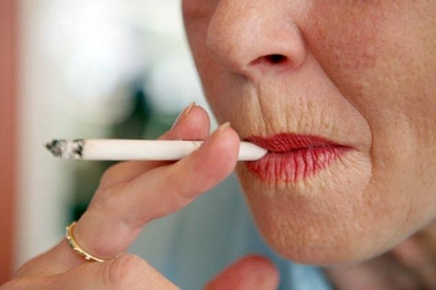 Курение способствует появлению кисетных морщин