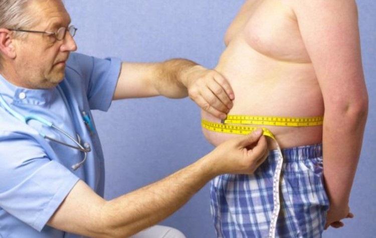 Диагностика ожирения по соотношению обхватов талии и бедер