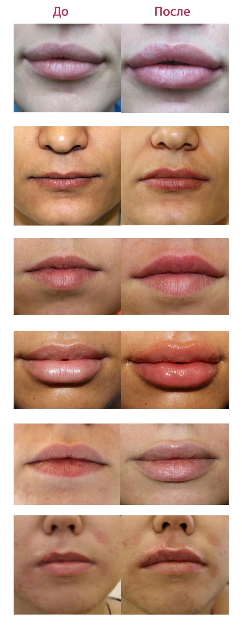 Оттенки помады для губ цвета кожи